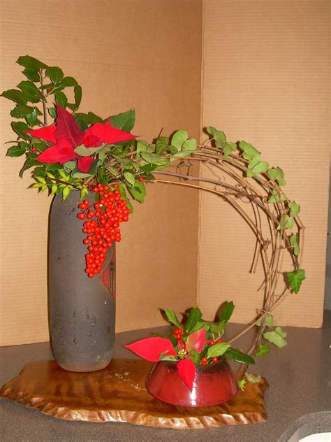flower arrangement containers orchids and ikebana two or more containers merry christmas