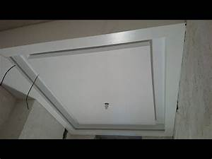 13 plasterboard ceiling with unusual lighting With plasterboard for bathroom ceiling