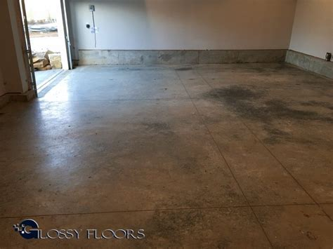 Polished Concrete Garage Floor
