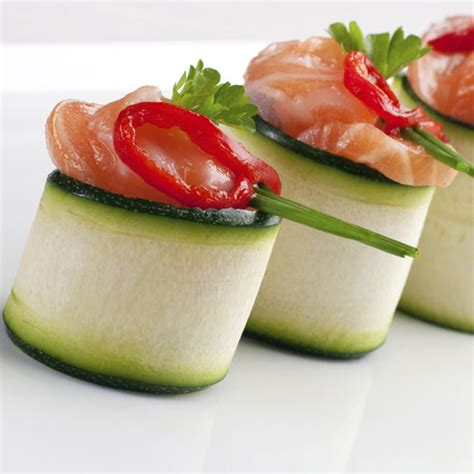 easy smoked salmon canapes smoked salmon canapé with wasabi recipe and