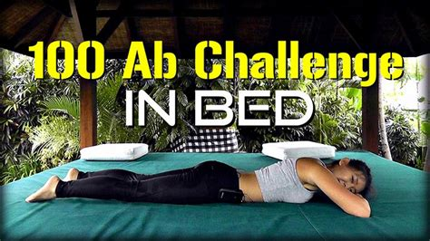 4-week 100 Ab Challenge In Bed