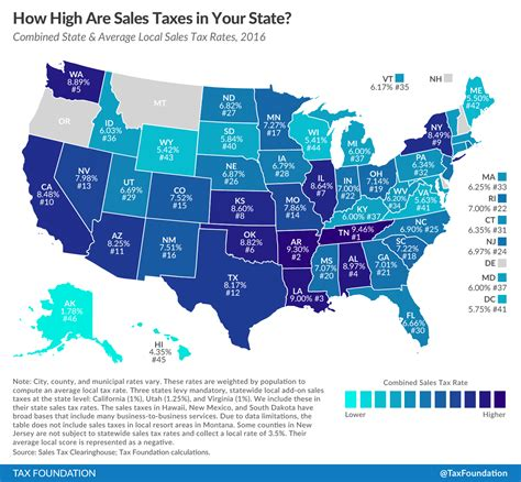 state of arkansas withholding tax tables state and local sales tax rates in 2016 tax foundation