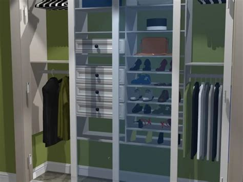 create your own closet system