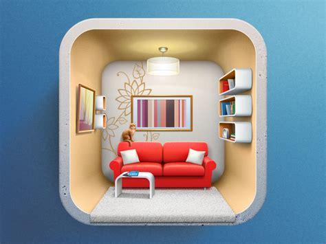 icon  interior design applicaion  artua dribbble