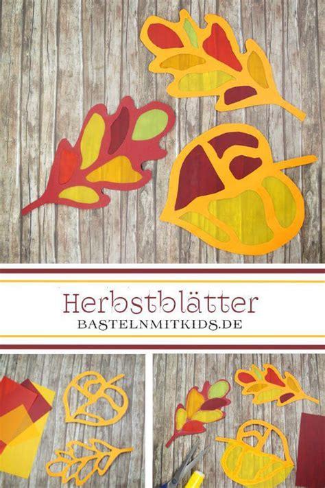 Herbst Fensterbilder Basteln by Fensterbild Basteln Schritt F 252 R Schritt Bastelnmitkids