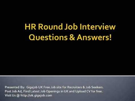 interview for hr position questions and answers hr round job interview questions answers youtube