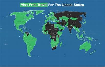 Map Covid American Passports Worthless America Places
