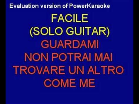 vieni qui testo vasco vieni qui vasco karaoke by revolution