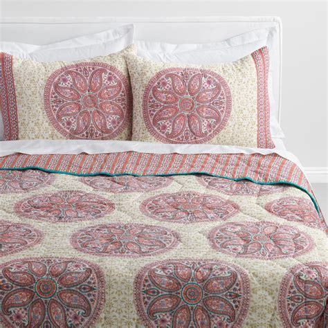 34398 world market bedding emmeline medallion bedding collection world market