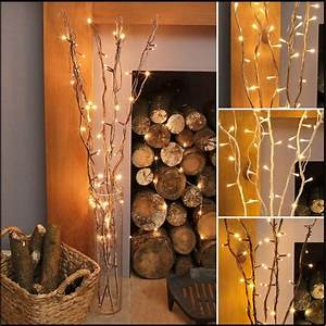 87cm, Plug, In, Twig, Branch, Decoration, With, Led, Fairy, Lights