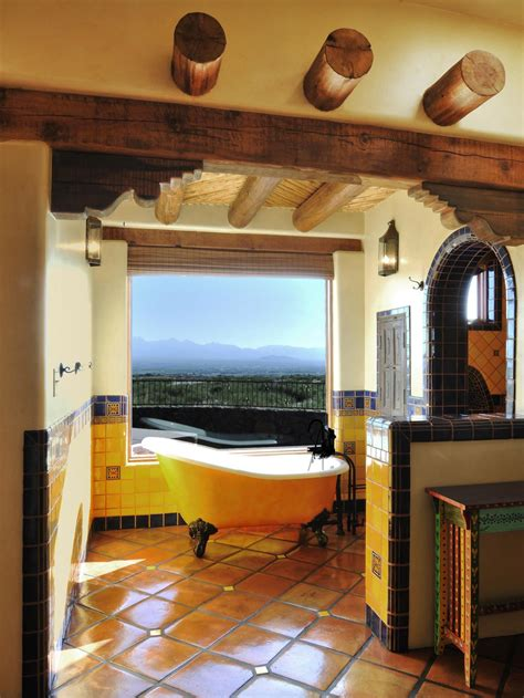 southwestern bathroom design ideas  wow style