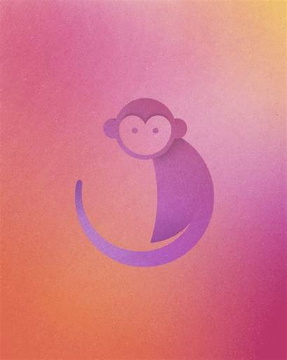 Circles Logos Perfect Animal Colorful Circle Monkey