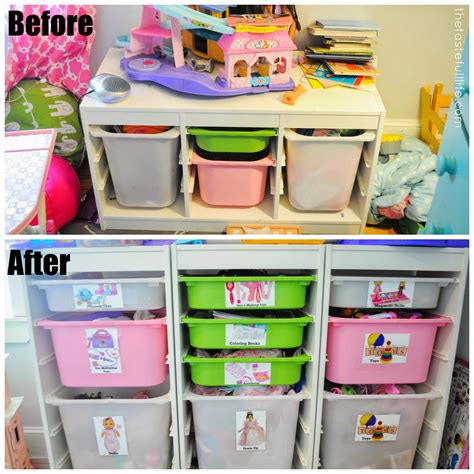 Small Space Toy Storage Solution, Easy Diy Toy Labels, And