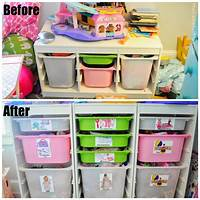 kids toy storage Small Space Toy Storage Solution, Easy DIY Toy Labels, and ...