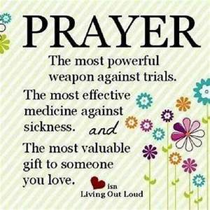 Prayer is ...