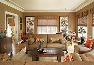 20, Living, Rooms, With, The, Textural, Beauty, Of, Grasscloth