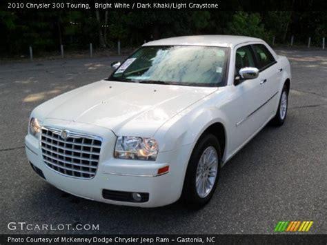 2010 Chrysler 300 Touring by Bright White 2010 Chrysler 300 Touring Khaki