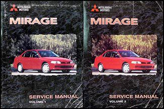 motor repair manual 1990 mitsubishi mirage auto manual 1999 mitsubishi mirage repair shop manual set original