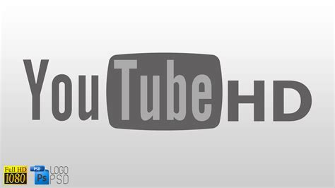 youtube logo hd wallpaper  aluxcom