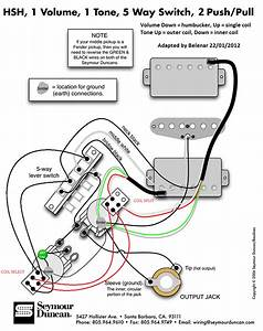 Wiring Diagram For Seymour Duncan Hot Stack Strat Pickups
