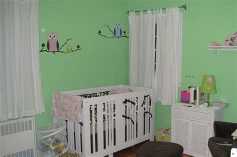 babykamer inspiratie groen
