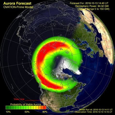 northern lights viewing map great northern lights forecast tonight where it 39 s not