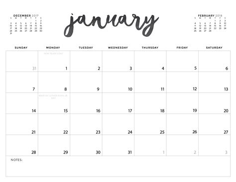 free 2018 calendar template your free 2018 printable calendars today there are 28 designs to choose from in both