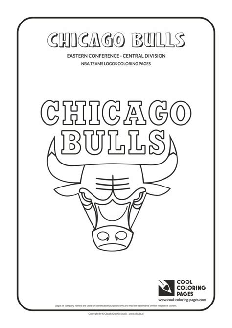 cool coloring pages chicago bulls nba basketball teams logos coloring pages cool coloring