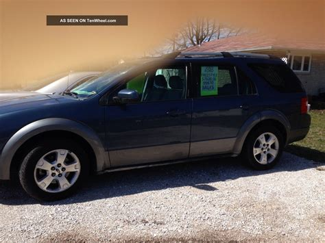 2005 Ford Freestyle Se Wagon 4 Door 3 0l