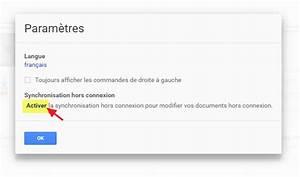 Comment Utiliser Google Docs Sans Internet Hors Ligne