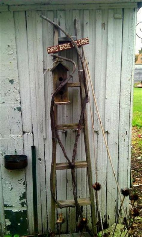 Garden ladder projects you can do!   Flea Market Gardening