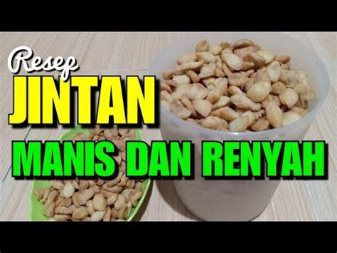 Resep kue jintan enak dan renyah dapat anda lihat pada video slide berikut. Resep Kue Jintan Goreng Manis