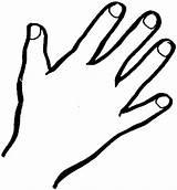 Outline Coloring Finger Hands Prayer Clipartmag Number Open Sanitizer Sky sketch template