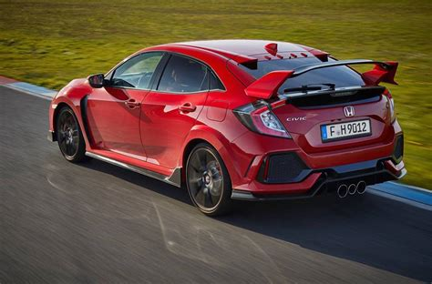 2017 Honda Civic Type R Does 0 100kmh In 57 Seconds