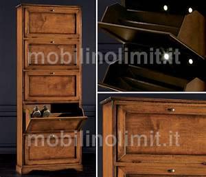 Mobili E Mobilifici A Torino Arte Povera Scarpiere Sd725e Avorio