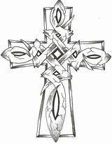 Cross Celtic Coloring Crosses Pages Wings Stone Drawings Clipart Clip Thelob Tattoo Deviantart Sketch Designs Tattoos Adult Colouring Cliparts Library sketch template