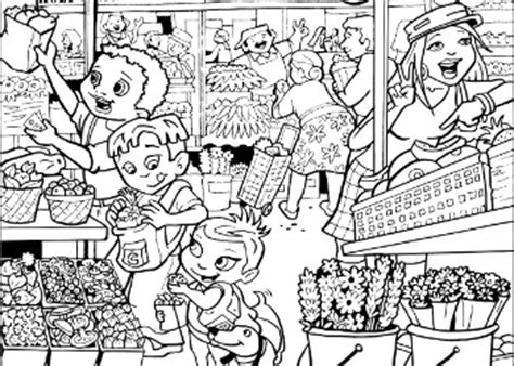 super crew coloring pages fun nutrition  kids