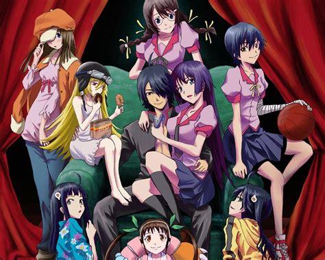 Harem Anime Wallpaper - bakemonogatari subtitle indonesia animekompi web id
