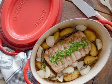 teleshopping cuisine recettes de rôti de porc et romarin