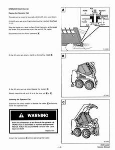 Bobcat 843  843b Skid Steer Loaders Service Manual Pdf