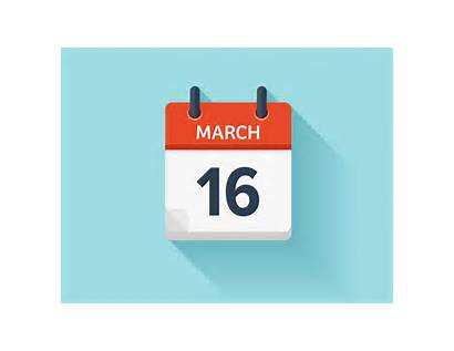 March Calendar Icon Date Daily Vector October