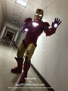 Buy Iron Man Costume Suit   the Real Pictures of Iron Man ...