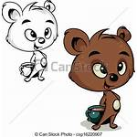 Bear Cocoa Ours Cacao Drawing Vecteur Dessin