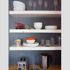 Images Of Beautifullyorganized Open Kitchen Shelving  Diy