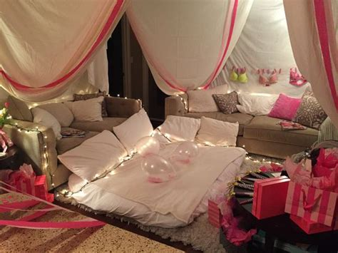chambre nuptiale deco chambre soirée pyjama soirée pyjama