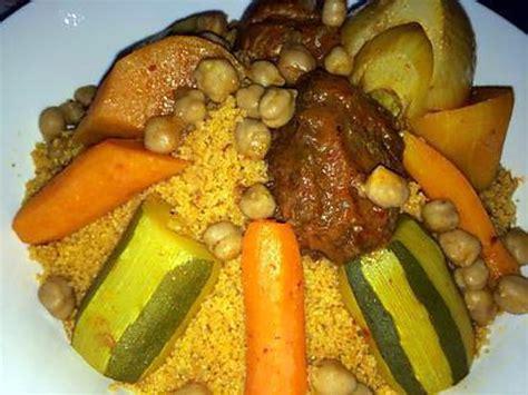 recette cuisine couscous recette de couscous tunisien aux légumes par chadiray