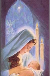 75 best Christ- Baby Jesus Vintage Christmas Cards images ...