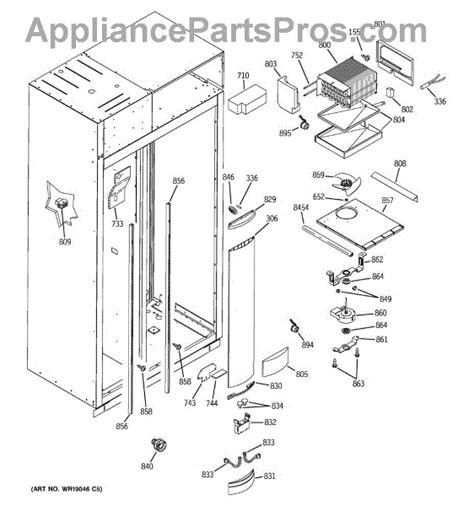 parts  ge zissdma freezer section parts appliancepartsproscom