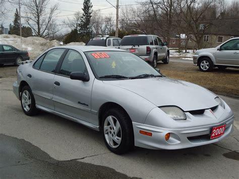 2000 Pontiac Sunfire by 2000 Pontiac Sunfire Se 4 Door 3 Bob Currie Auto Sales