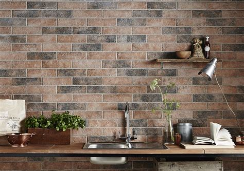 brick effect kitchen tiles brick tiles exposed brick without the mess tile mountain 4882